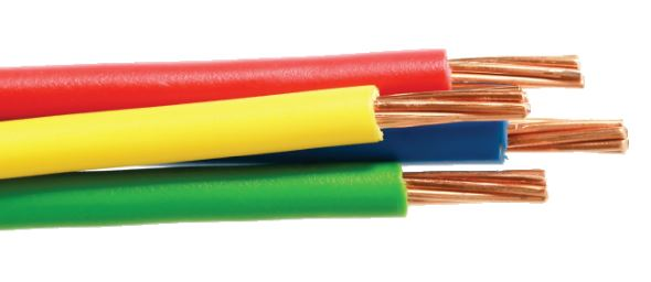 450/750V, Class 2, Copper Conductor, PVC Insulated Cable