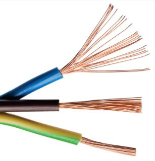 450/750V, Class 5, Copper Conductor, PVC Insulated Cable